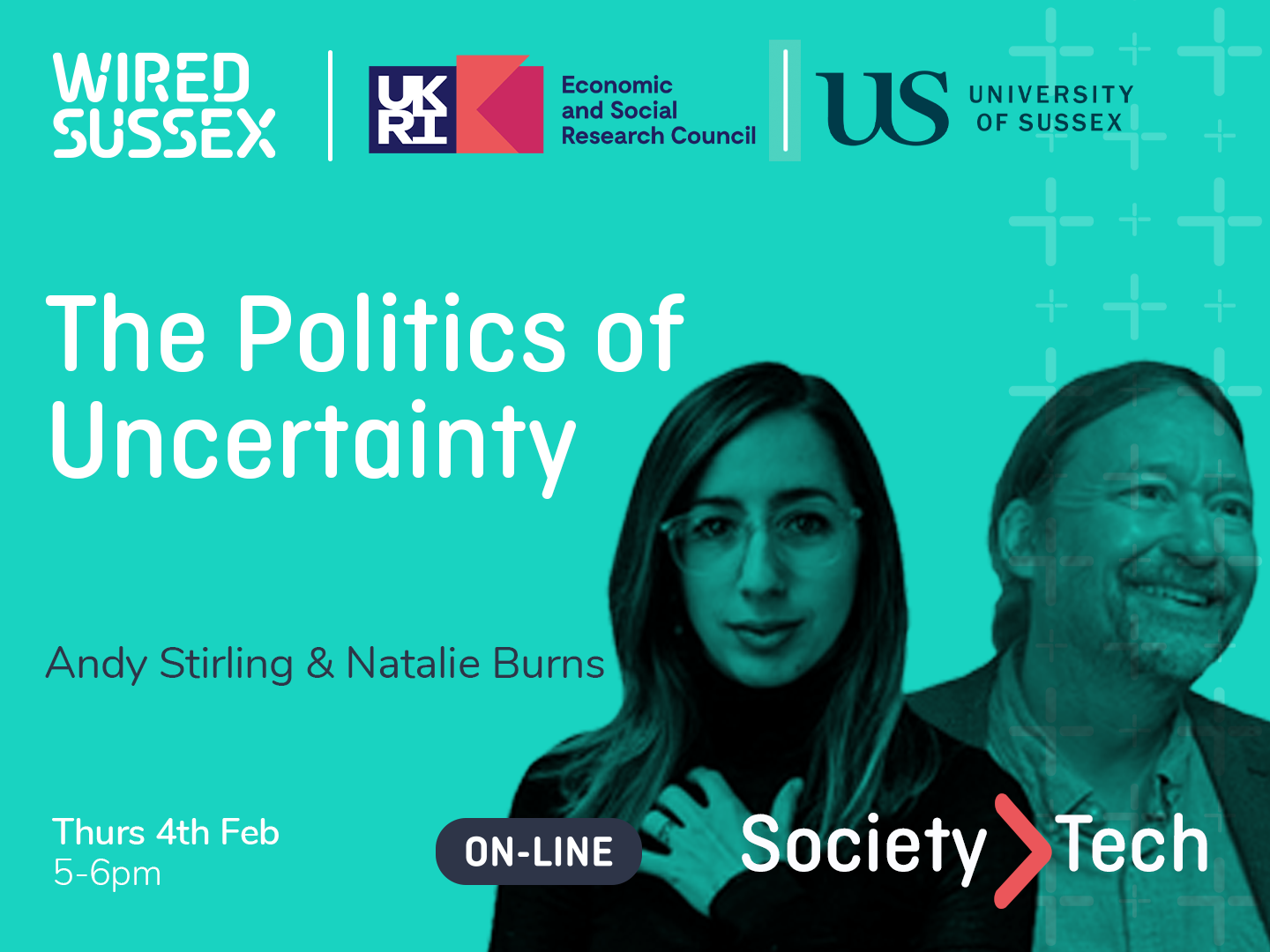 Society > Tech | The Politics of Uncertainty | Natalie Burns & Andy Stirling