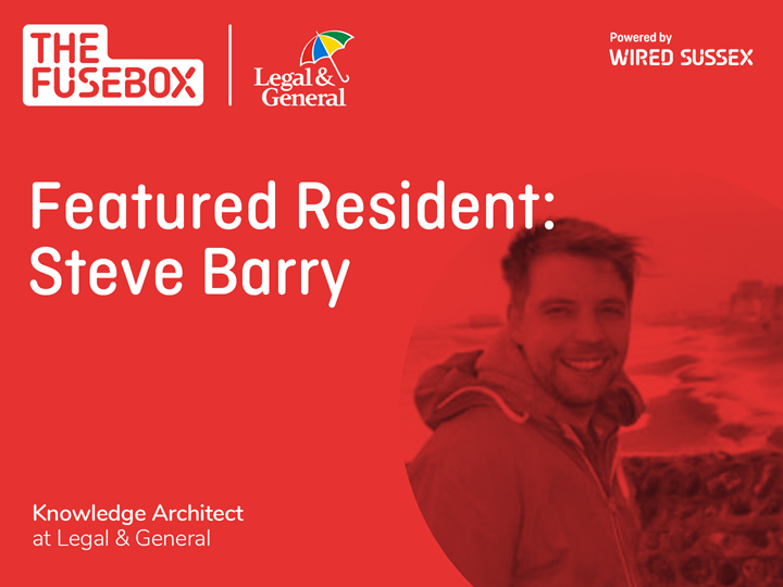 Featured Resident: Steve Barry, Legal & General
